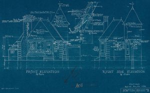 Joy Oil gas station blueprint